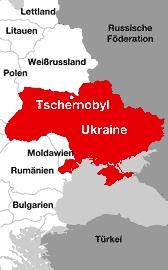 Tschernobyl Karte.Tschernobyl Katastrophe